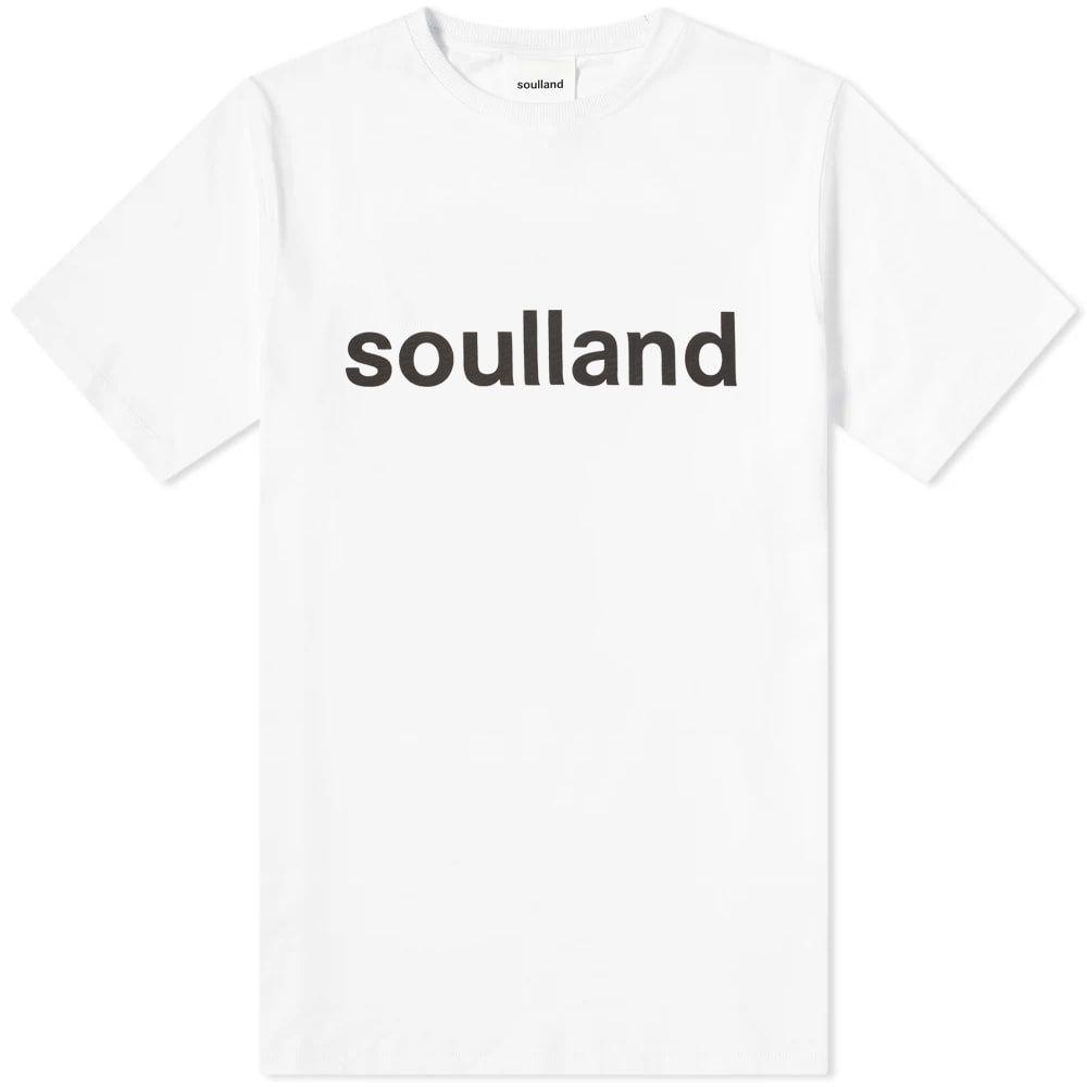 ソウルランド Soulland メンズ トップス Tシャツ【Logic Chuck Logo Tee】White