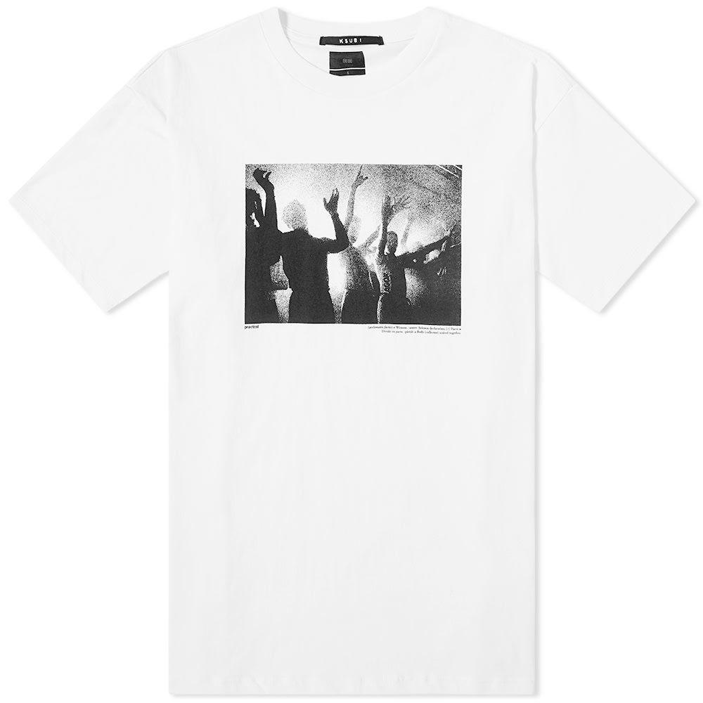 スビ Ksubi メンズ Tシャツ トップス【dancers printed tee】White