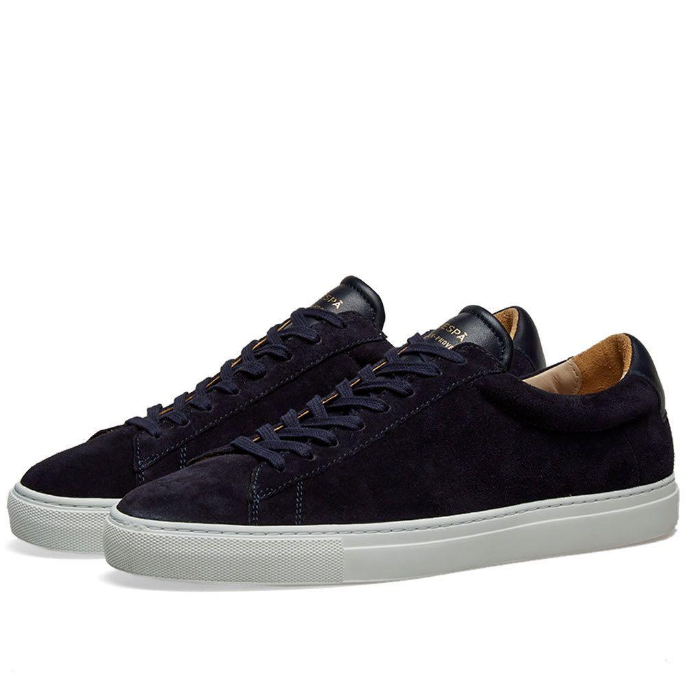 ゼスパ Zespa メンズ シューズ・靴 スニーカー【ZSP4 HGH Suede Sneaker】Navy