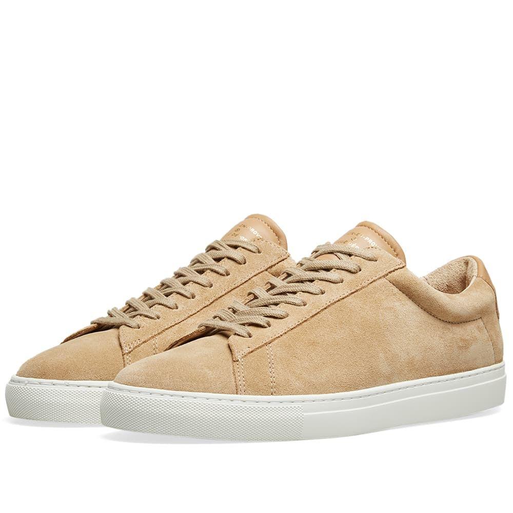 ゼスパ Zespa メンズ シューズ・靴 スニーカー【ZSP4 HGH Suede Sneaker】Savane/White