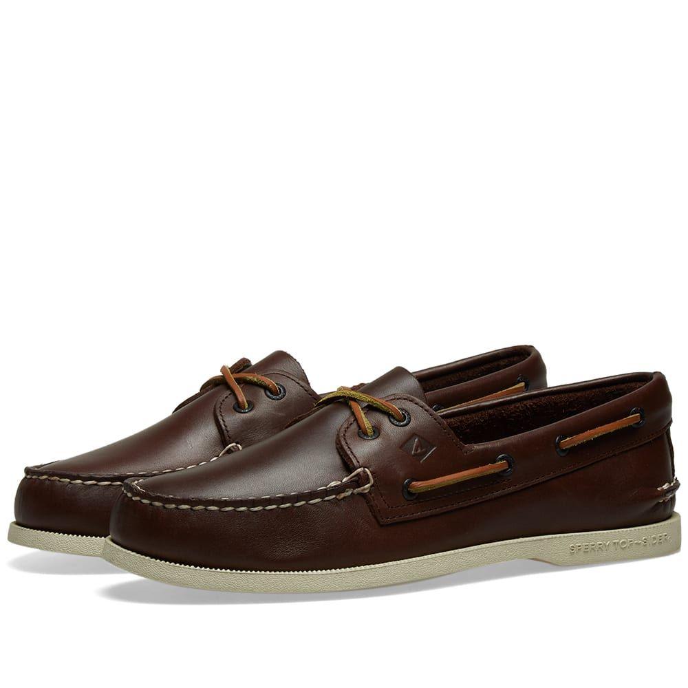 スペリートップサイダー Sperry Topsider メンズ シューズ・靴 デッキシューズ【Authentic Original 2-Eye】Classic Brown