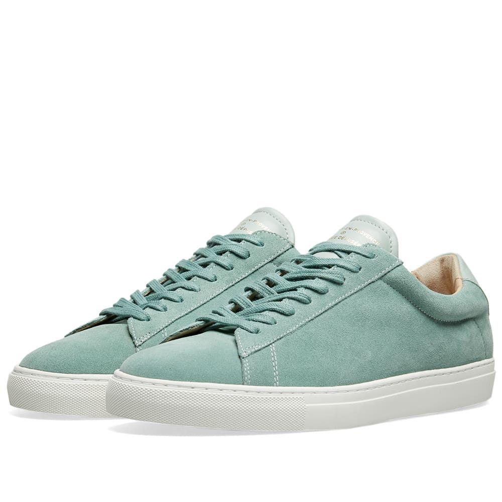 ゼスパ Zespa メンズ シューズ・靴 スニーカー【ZSP4 HGH Suede Sneaker】Mint/White