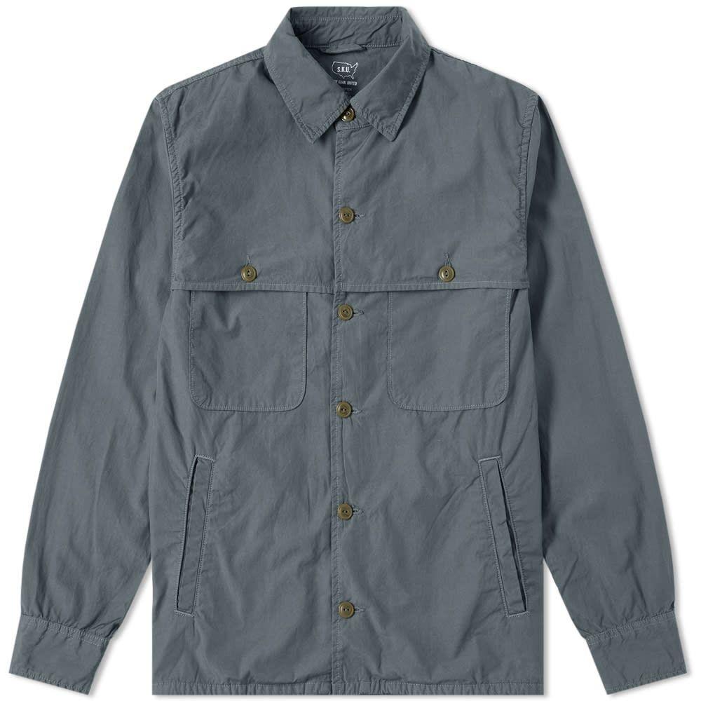 セーブカーキユナイテッド Save Khaki メンズ ジャケット シャツジャケット アウター【poplin camp shirt jacket】Park