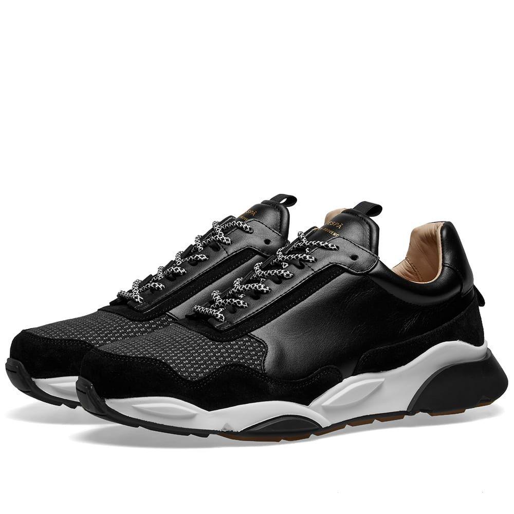 ゼスパ Zespa メンズ シューズ・靴 スニーカー【ZSP7 Canvas Sneaker】Black