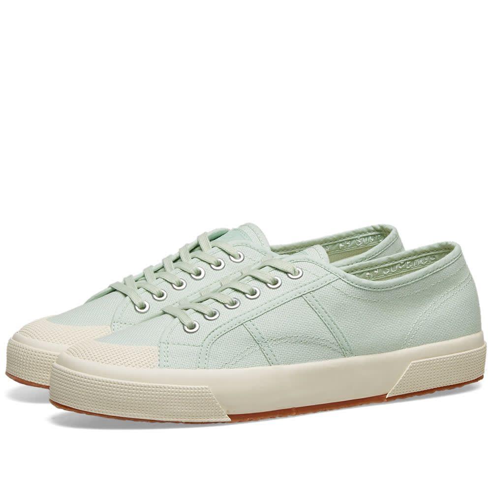 スペルガ Superga メンズ スニーカー シューズ・靴【2390 pastel】Pastel Green/White