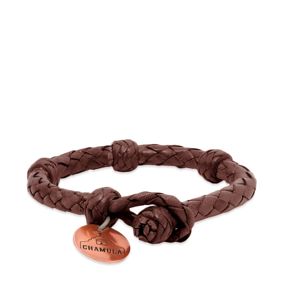 チャムラ Chamula メンズ ジュエリー・アクセサリー ブレスレット【Round Bracelet】Brown
