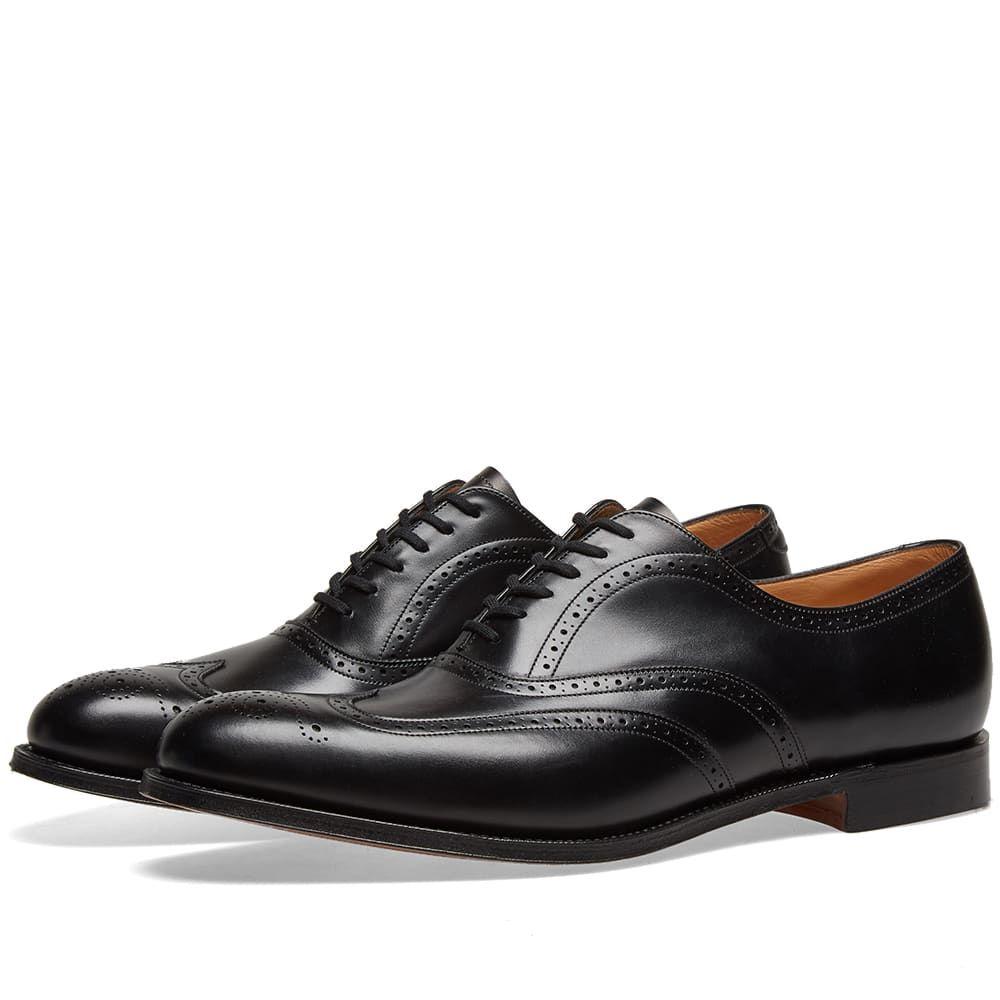チャーチ Churchs メンズ シューズ・靴 革靴・ビジネスシューズ【Church's Berlin Brogue】Black