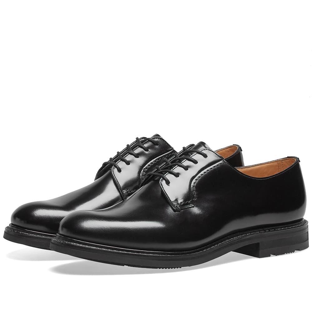 チャーチ Churchs メンズ シューズ・靴 革靴・ビジネスシューズ【Church's Woodbridge Lace Up Derby Shoe】Black