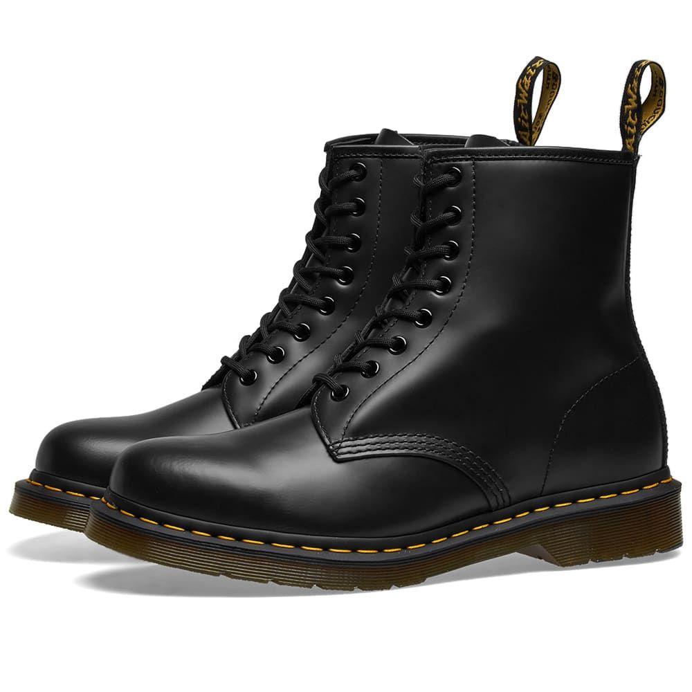 ドクターマーチン Dr Martens メンズ ブーツ シューズ・靴【dr. martens 1460 8-eye smooth leather boot】Black
