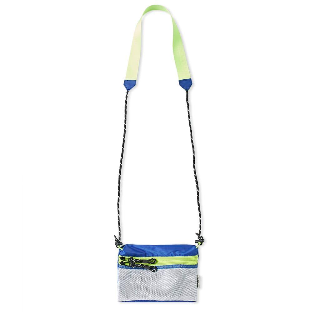 テイケン Taikan メンズ バッグ ショルダーバッグ【Sacoche Small Cross Body Bag】White/Blue/Yellow