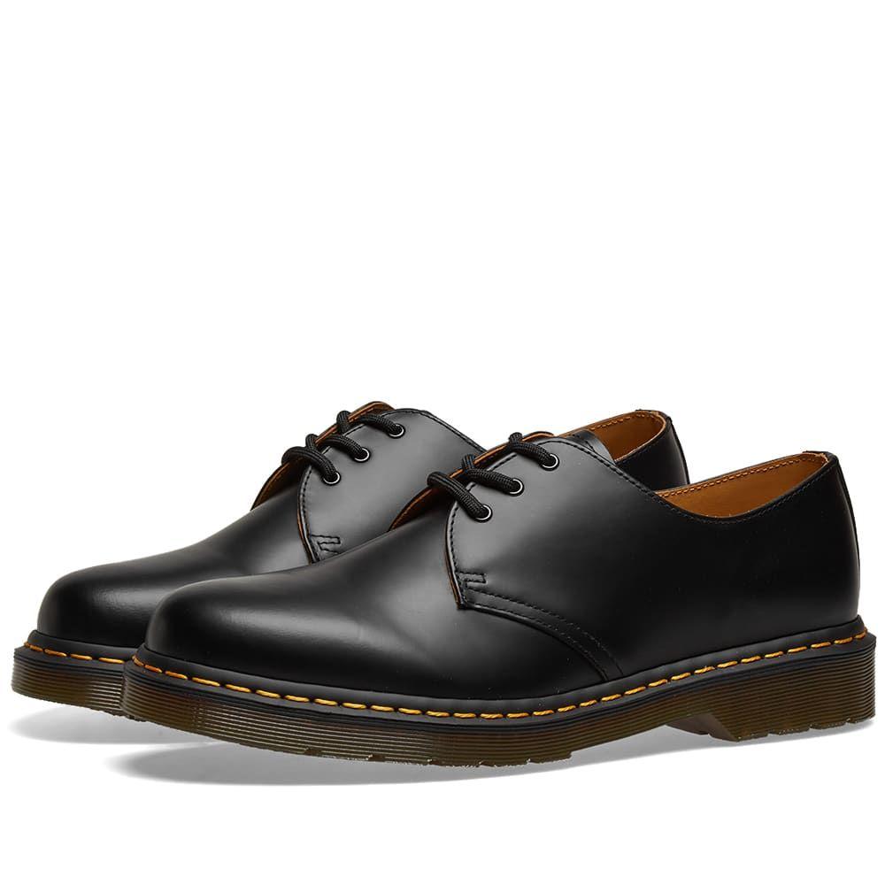 ドクターマーチン Dr Martens メンズ シューズ・靴 【dr. martens 1461 3-eye shoe】Black Smooth