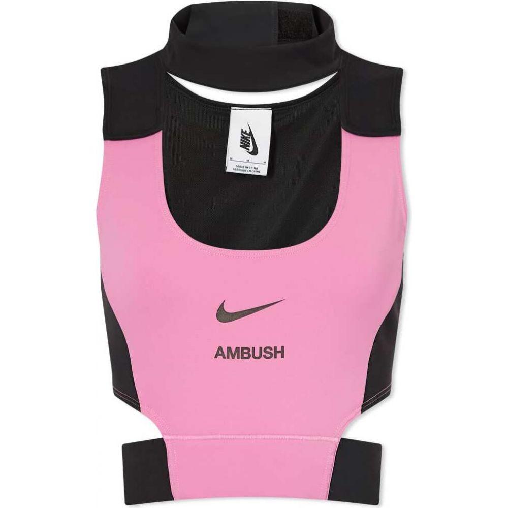 ナイキ レディース トップス ベアトップ 捧呈 チューブトップ クロップド Magic Flamingo Crop Top お得なキャンペーンを実施中 サイズ交換無料 Black x W Ambush Nike