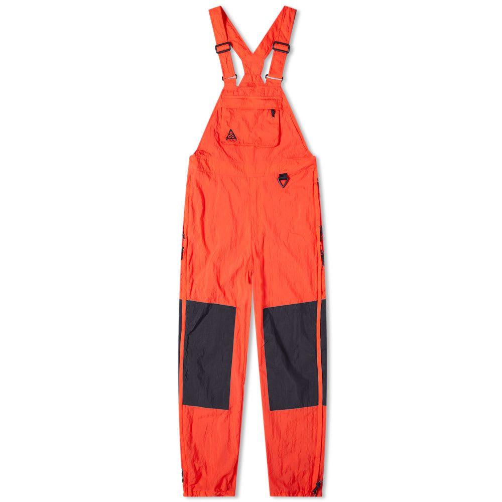 ナイキ メンズ ボトムス・パンツ オーバーオール Habanero Red 【サイズ交換無料】 ナイキ Nike メンズ オーバーオール ボトムス・パンツ【acg overalls】Habanero Red