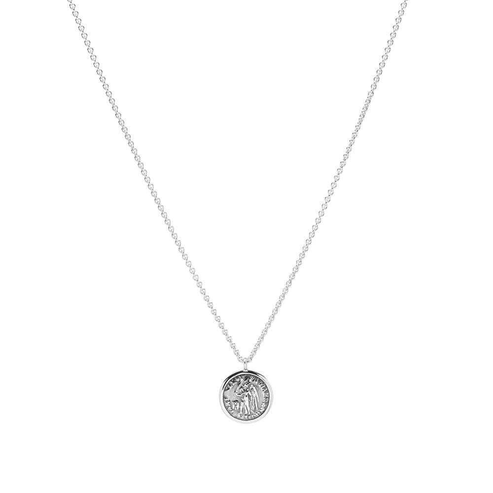トムウッド Tom Wood メンズ ネックレス ジュエリー・アクセサリー【coin pendant】Silver