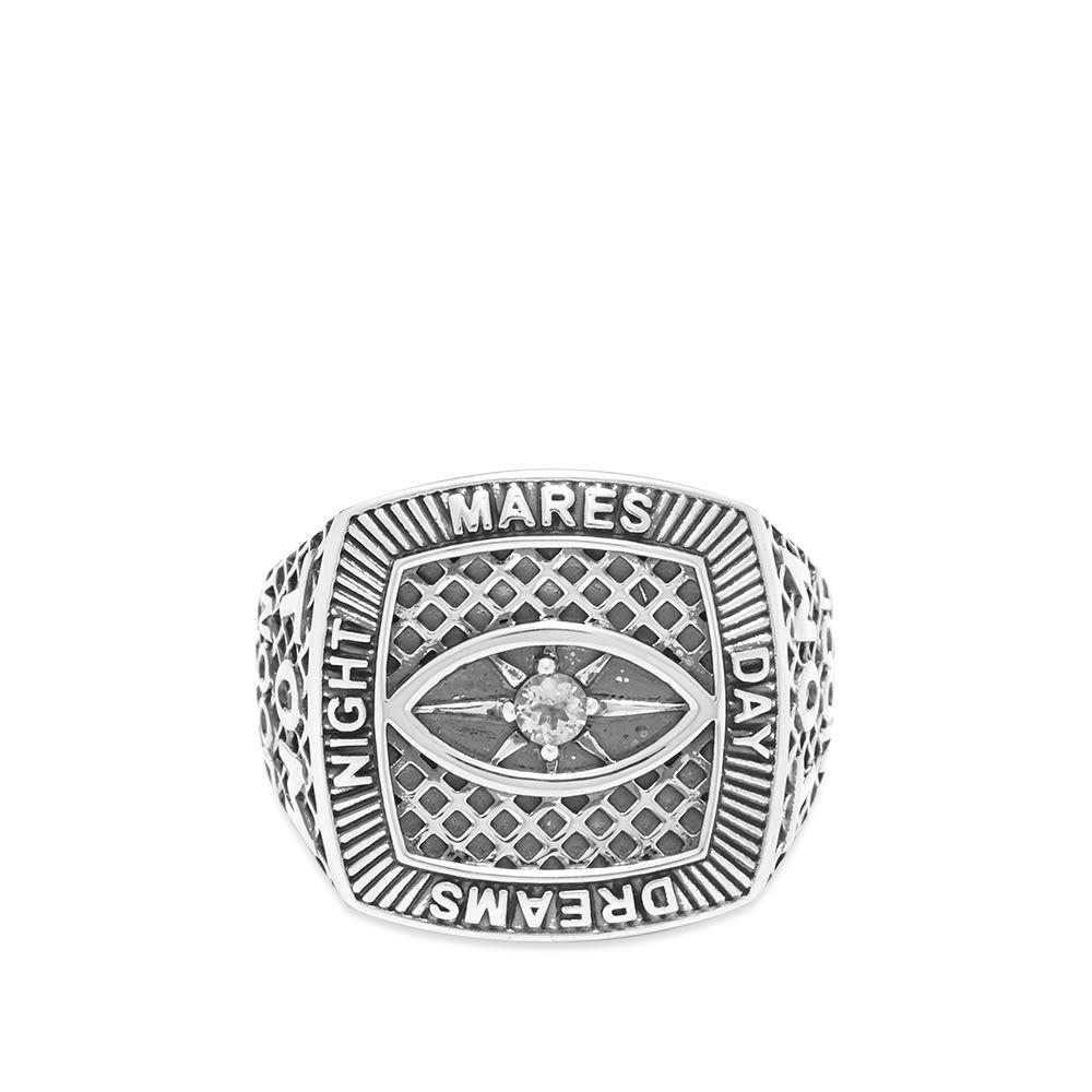 トムウッド Tom Wood メンズ 指輪・リング ジュエリー・アクセサリー【champion ring crystal eye】Sterling Silver