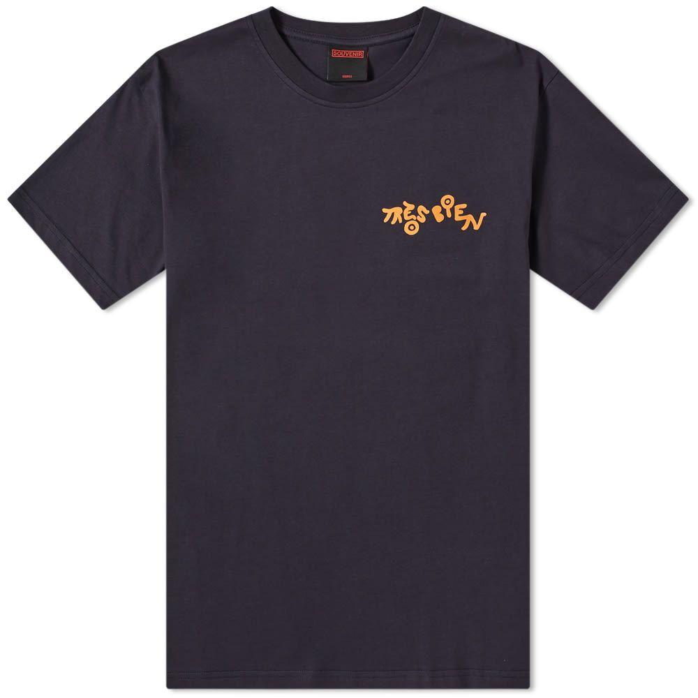 トレビアン Tres Bien メンズ Tシャツ トップス【sigurd souvenir tee】Navy