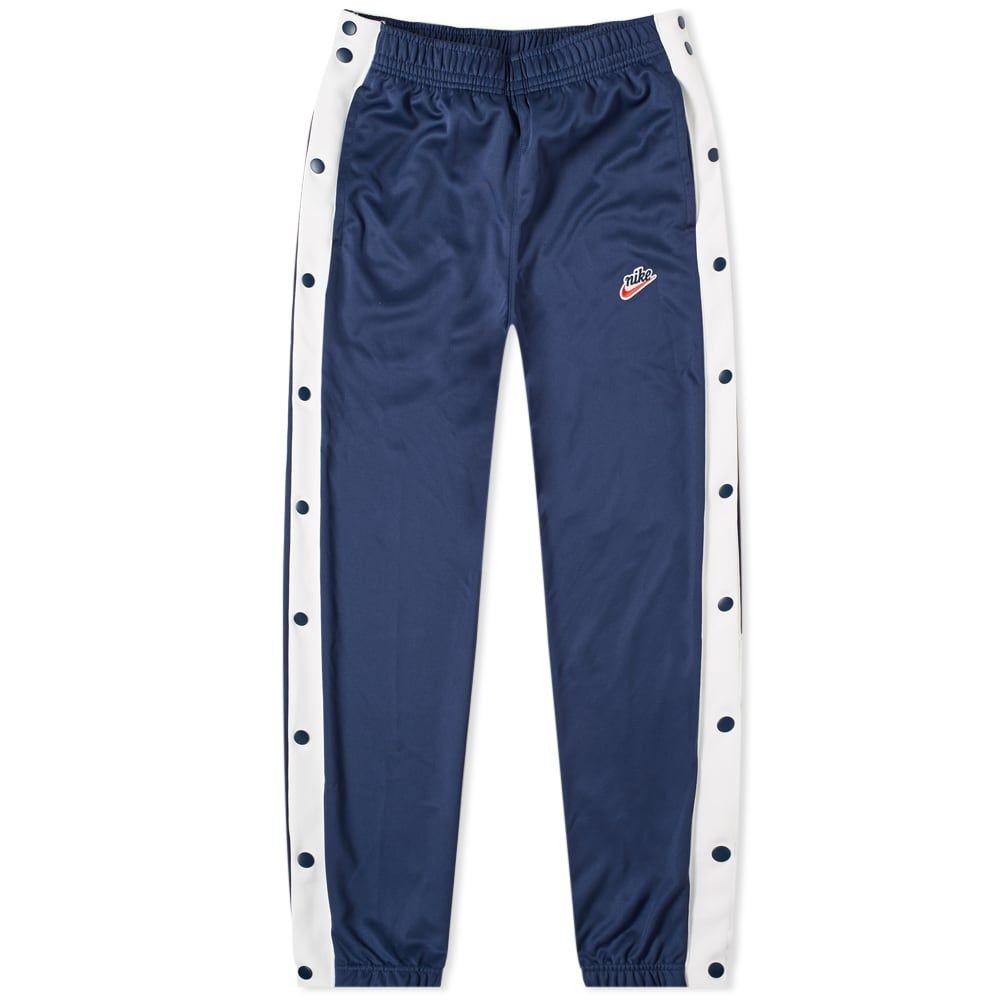 ナイキ Nike メンズ スウェット・ジャージ ボトムス・パンツ【heritage popper pant】Midnight Navy/White