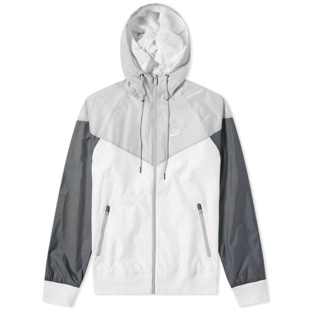 ナイキ Nike メンズ ジャケット アウター【windrunner jacket】White/Grey