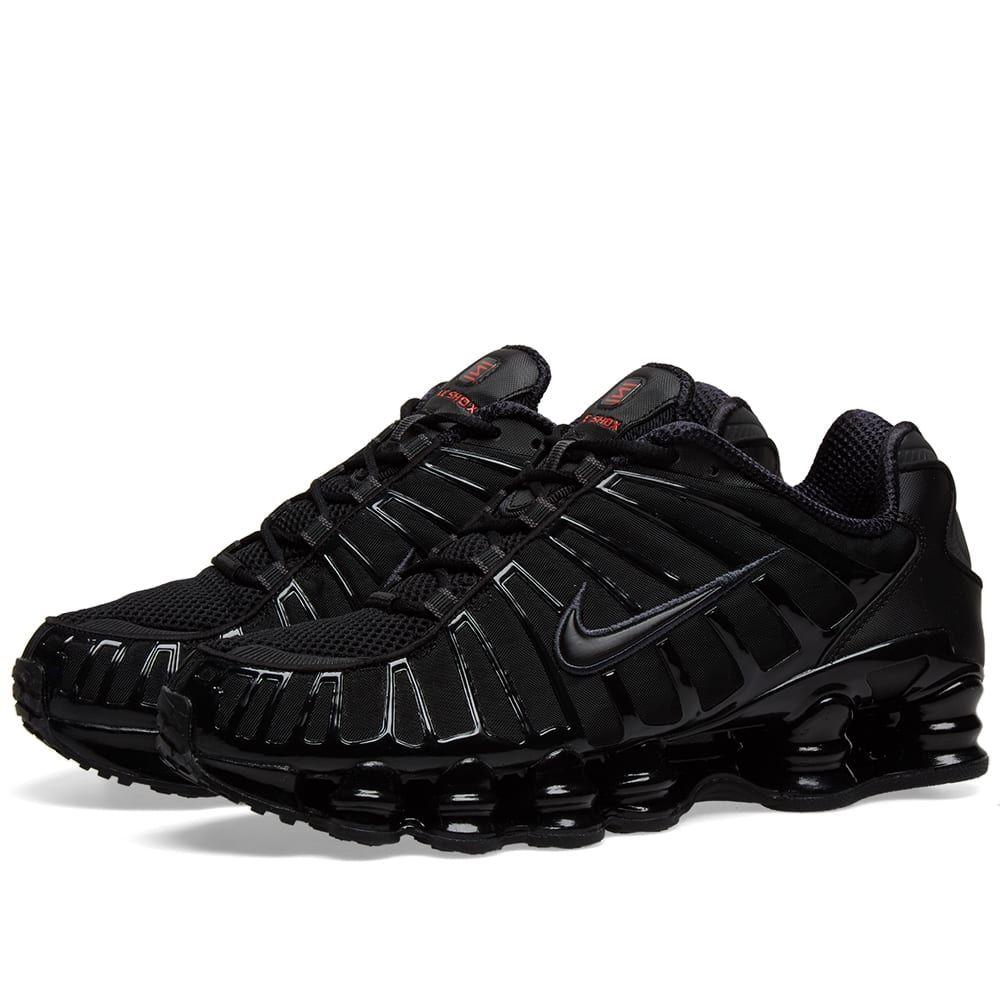 ナイキ Nike メンズ スニーカー シューズ・靴【shox tl】Black/Hematite/Max Orange