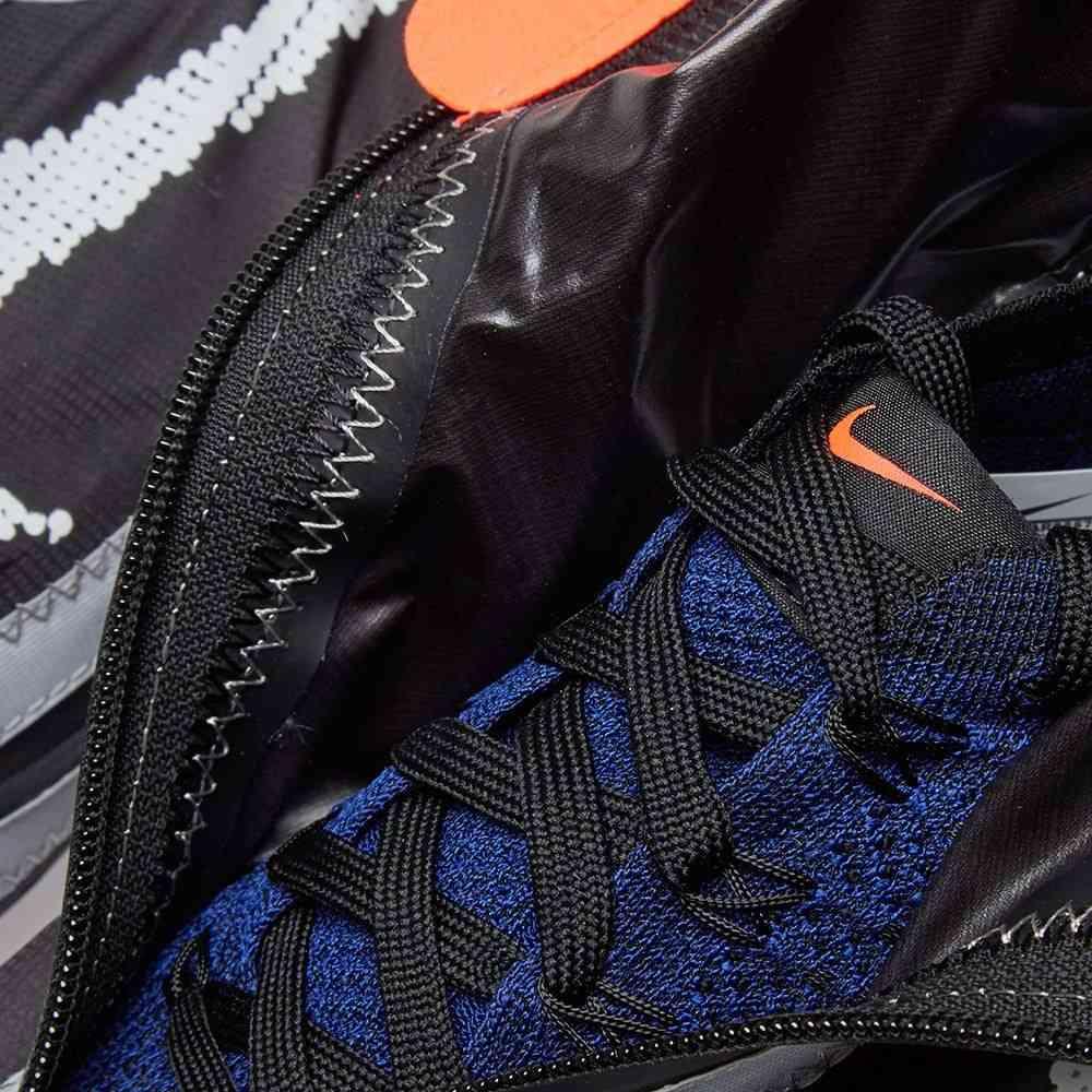 ナイキ Nike メンズ スニーカー シューズ・靴 air vapormax flyknit gaiter ispa Black White RoyalPXkZuOi
