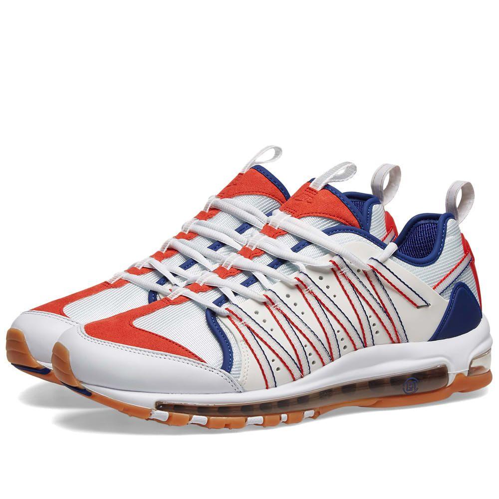 ナイキ Nike メンズ スニーカー シューズ・靴【x clot am haven】White/Sail/Royal/Red