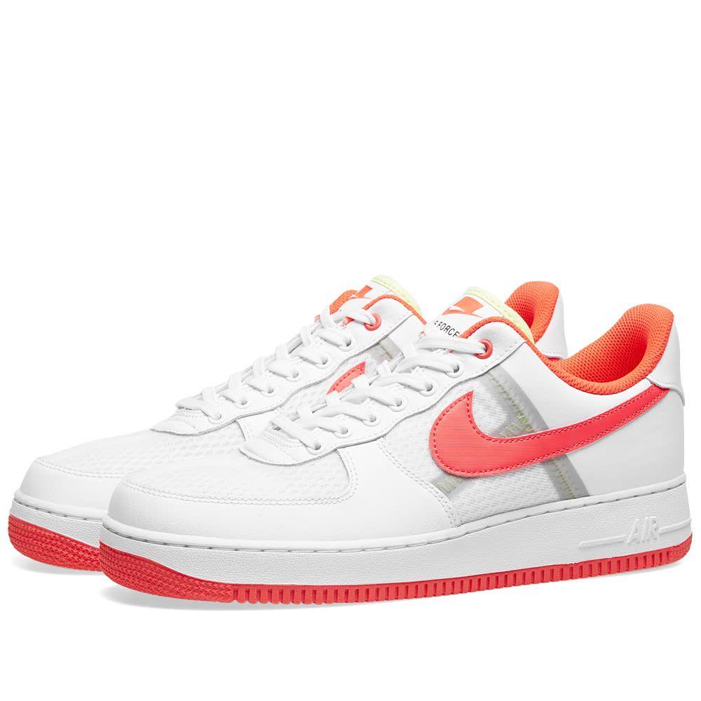 ナイキ Nike メンズ スニーカー エアフォースワン シューズ・靴【air force 1 '07 lv8】White/Bright Crimson/Ivory