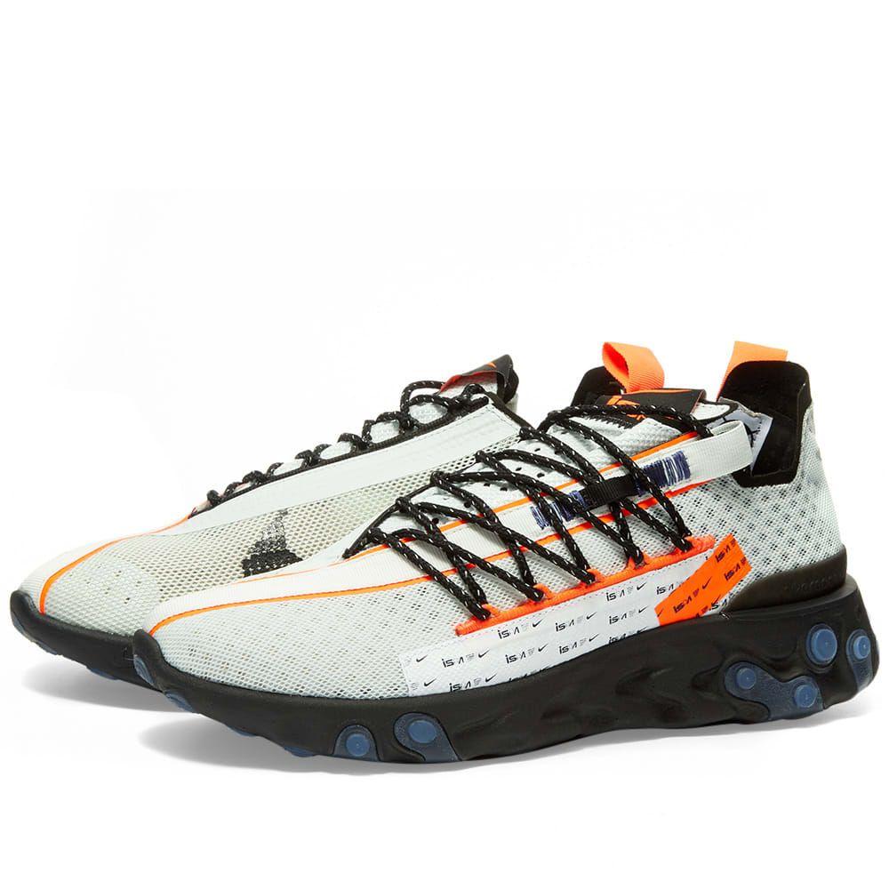 ナイキ Nike メンズ スニーカー シューズ・靴【react ispa】Ghost Aqua/Crimson/Black