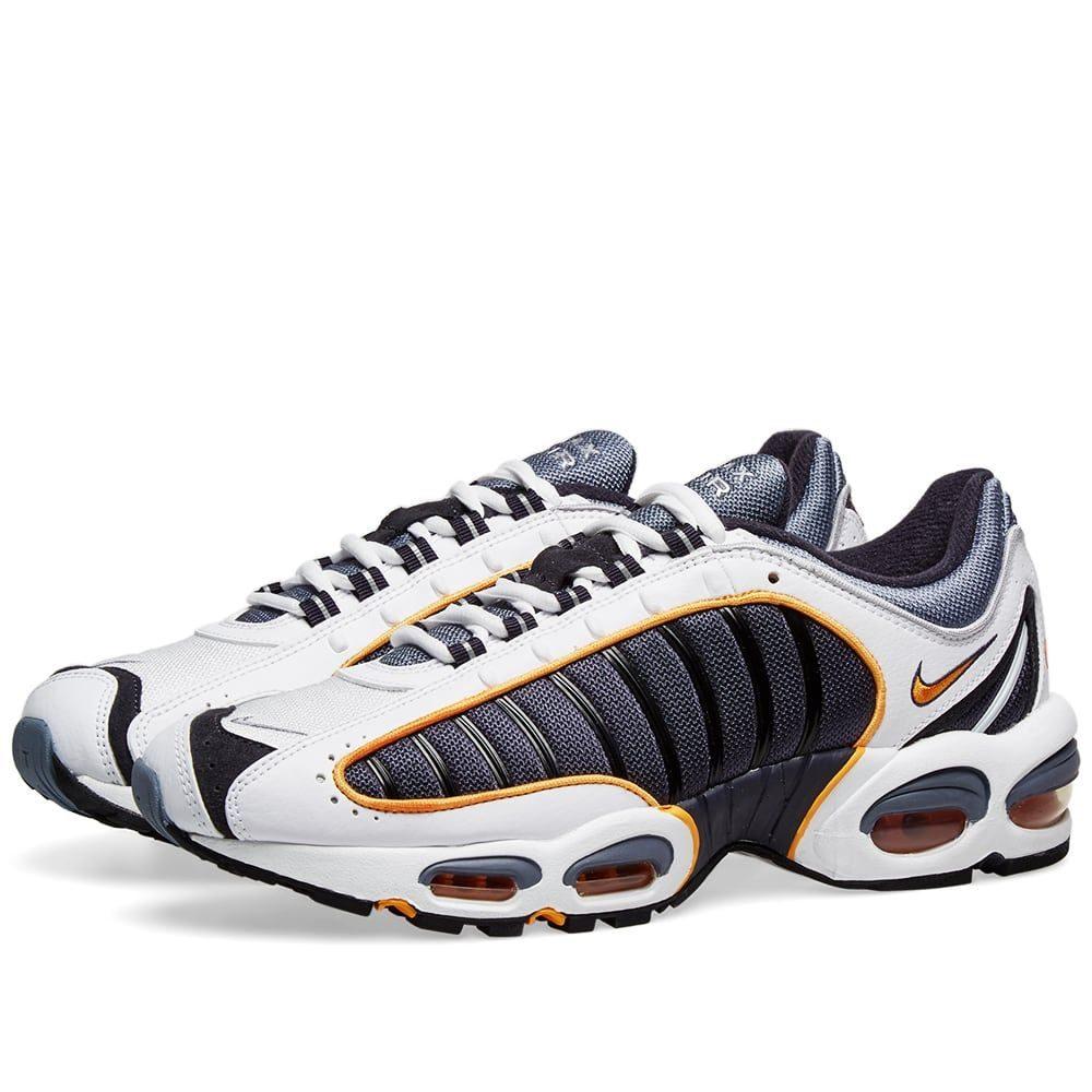 ナイキ Nike メンズ スニーカー シューズ・靴【air max tailwind iv】Grey/White/Resin/Silver
