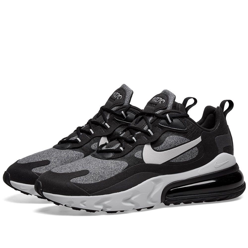 ナイキ Nike メンズ スニーカー エアマックス 27 シューズ・靴【air max 270 react】Black/Vast Grey/Off White