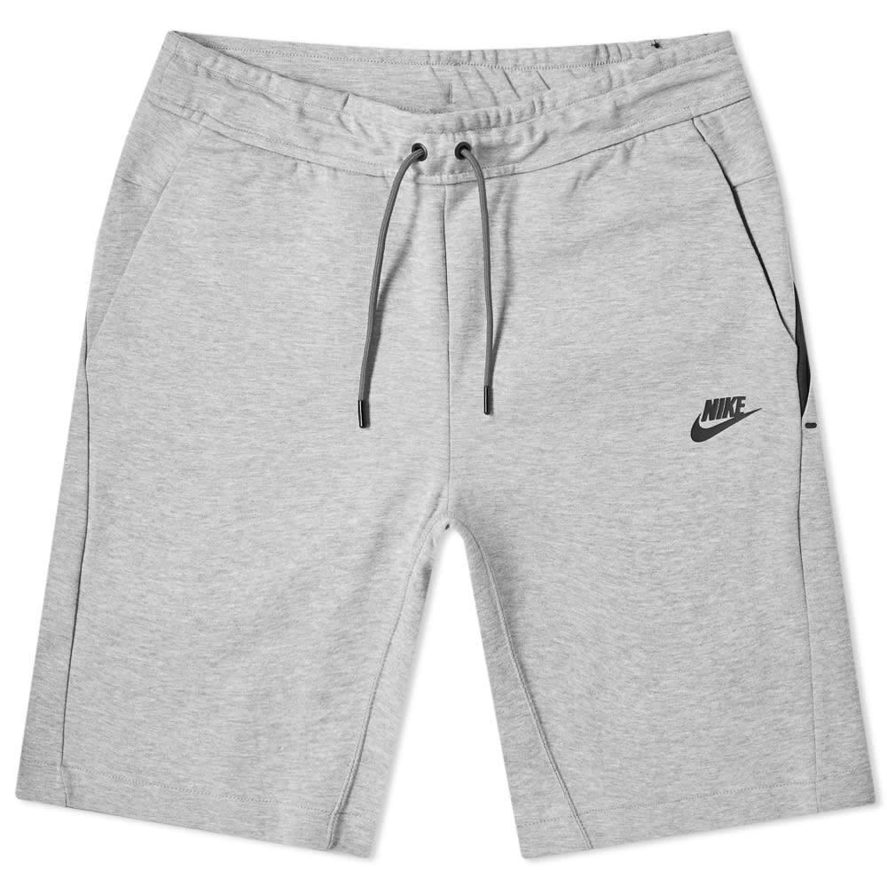 ナイキ Nike メンズ ショートパンツ ボトムス・パンツ【tech fleece short】Dark Grey Heather/Black