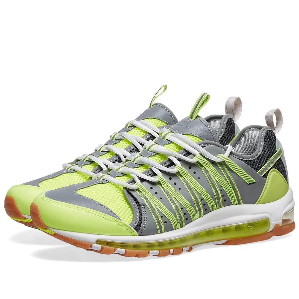 ナイキ Nike メンズ スニーカー シューズ・靴【x clot am haven】Volt/Dark Grey/Platinum