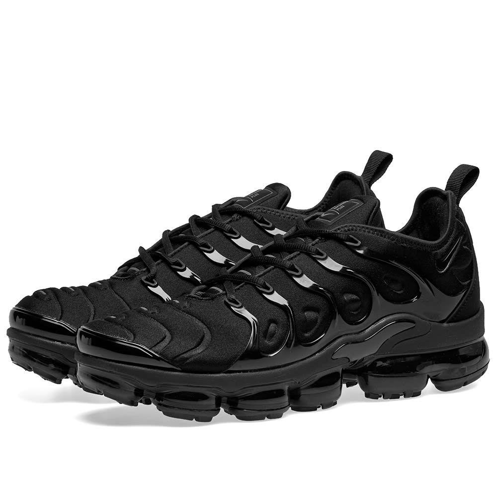 ナイキ Nike メンズ スニーカー シューズ・靴【air vapormax plus】Black/Dark Grey
