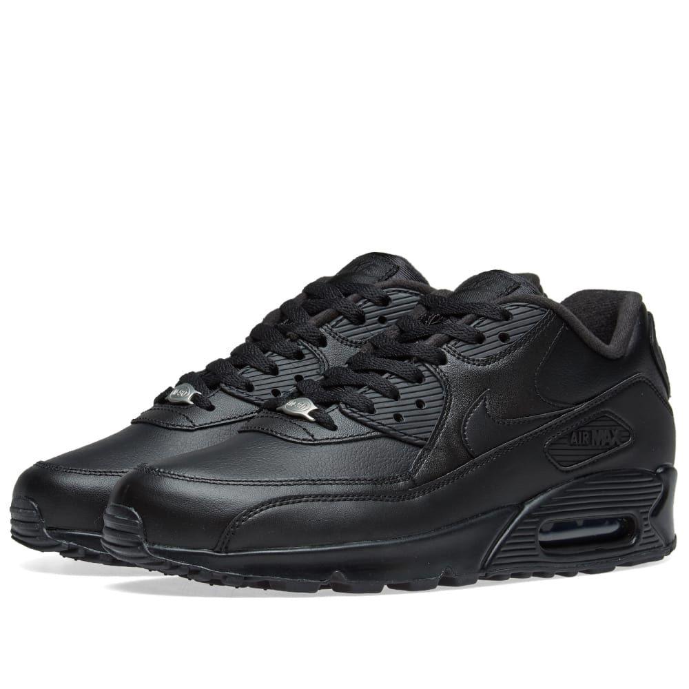 ナイキ Nike メンズ スニーカー エアマックス 9 シューズ・靴【air max 90 leather】Black