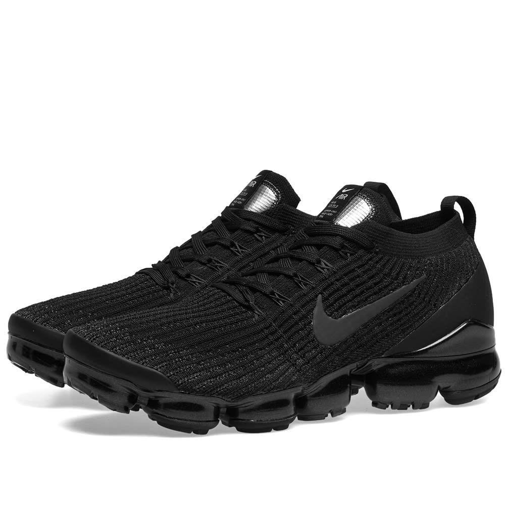 ナイキ Nike メンズ スニーカー シューズ・靴【air vapormax flyknit 3】Black