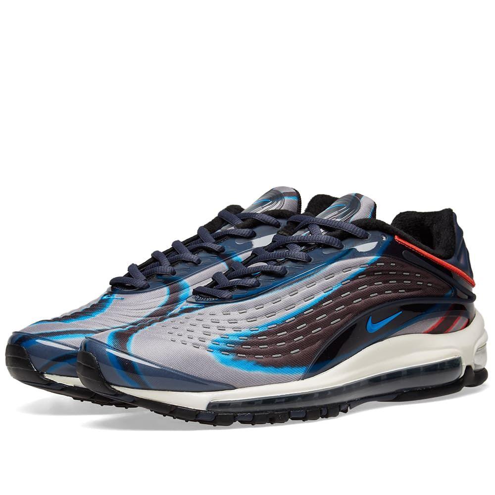 ナイキ Nike メンズ スニーカー シューズ・靴【air max deluxe】Blue/Russet/Black/Red
