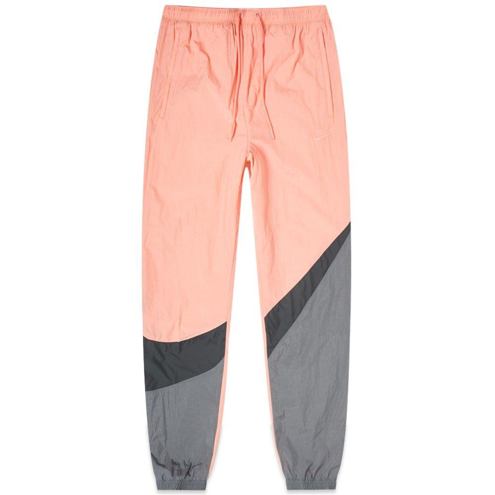 ナイキ Nike メンズ スウェット・ジャージ ボトムス・パンツ【big swoosh woven pant】Pink Gaze/Black/Dark Grey