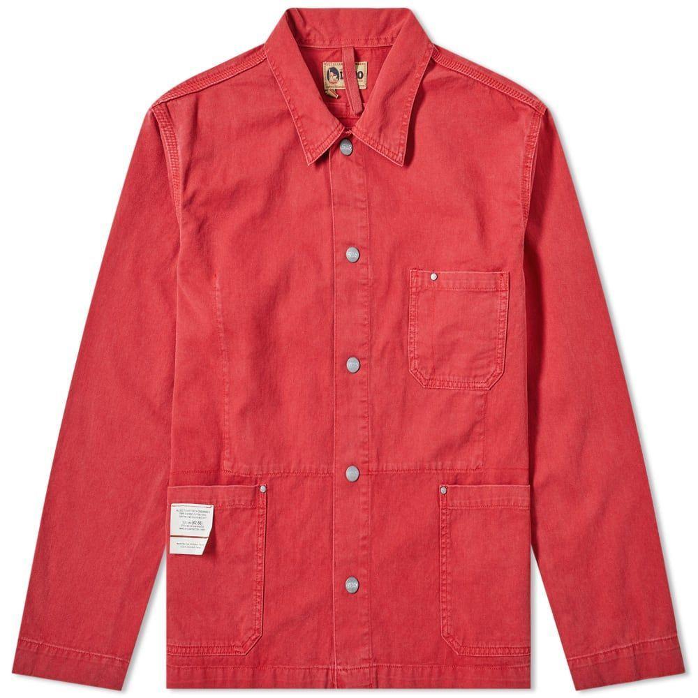 ナイジェルケーボン Nigel Cabourn メンズ ジャケット アウター【x lybro field jacket】Sun Bleached Red