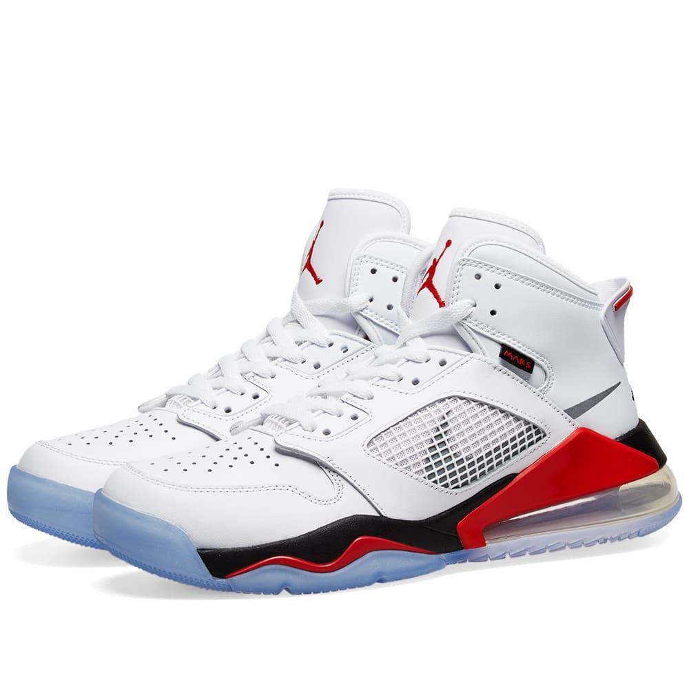 ナイキ ジョーダン Nike Jordan メンズ スニーカー シューズ・靴【air jordan mars 270】White/Silver/Fire Red