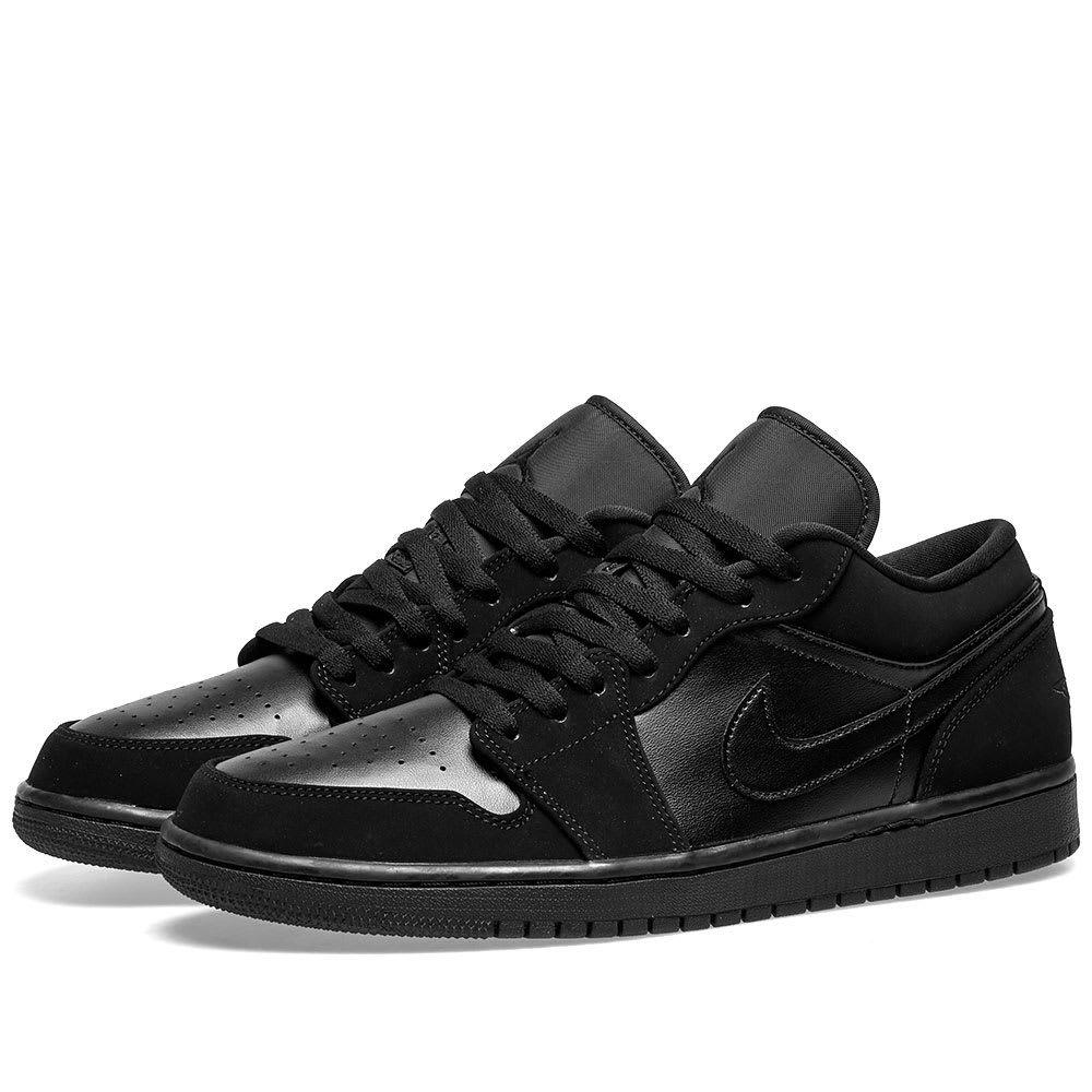 ナイキ ジョーダン Nike Jordan メンズ スニーカー シューズ・靴【air jordan 1 low】Black