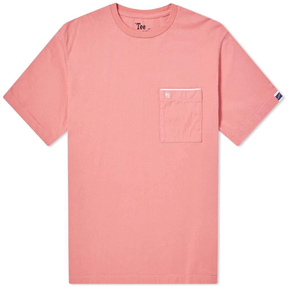 ナナミカ Nanamica メンズ Tシャツ ポケット トップス【pocket tee】Coral