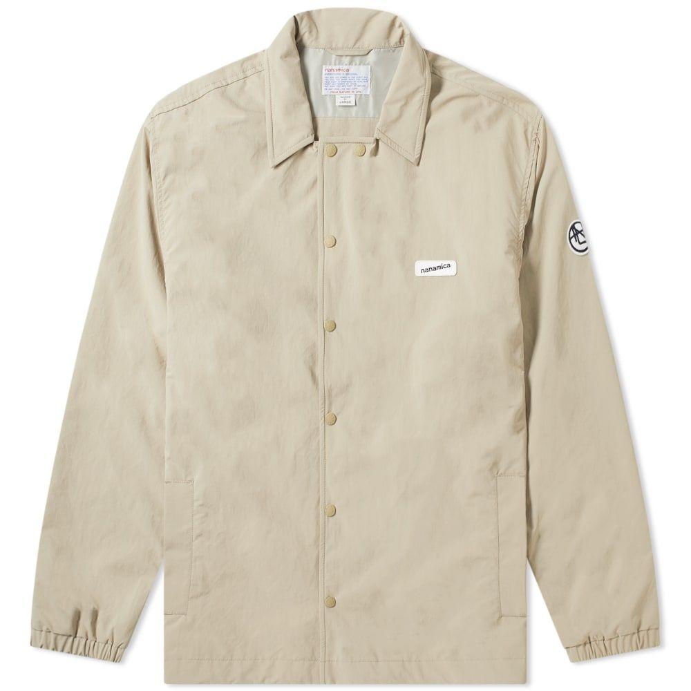 ナナミカ Nanamica メンズ ジャケット コーチジャケット アウター【coach jacket】Beige