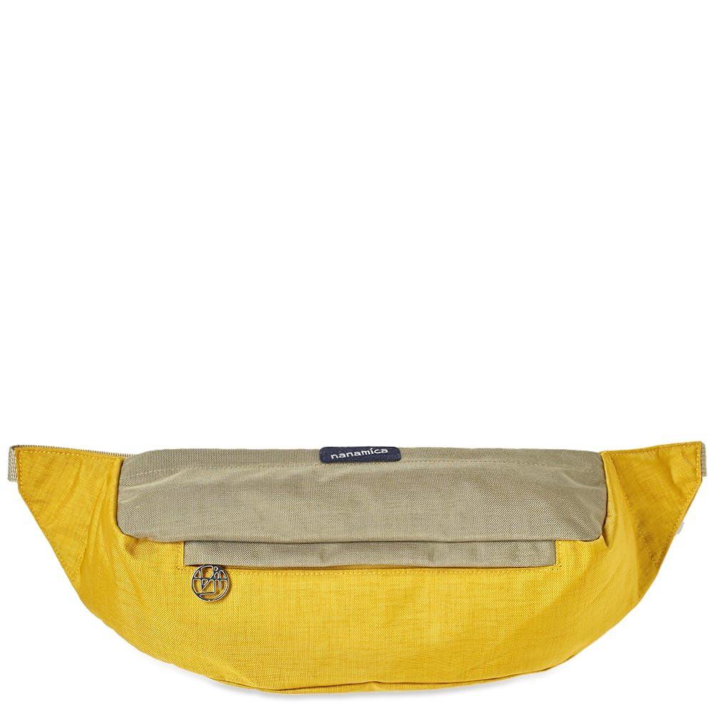 ナナミカ Nanamica メンズ ボディバッグ・ウエストポーチ バッグ【waist bag】Yellow/Beige