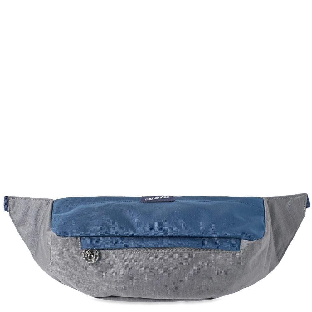 ナナミカ Nanamica メンズ ボディバッグ・ウエストポーチ バッグ【waist bag】Grey/Navy