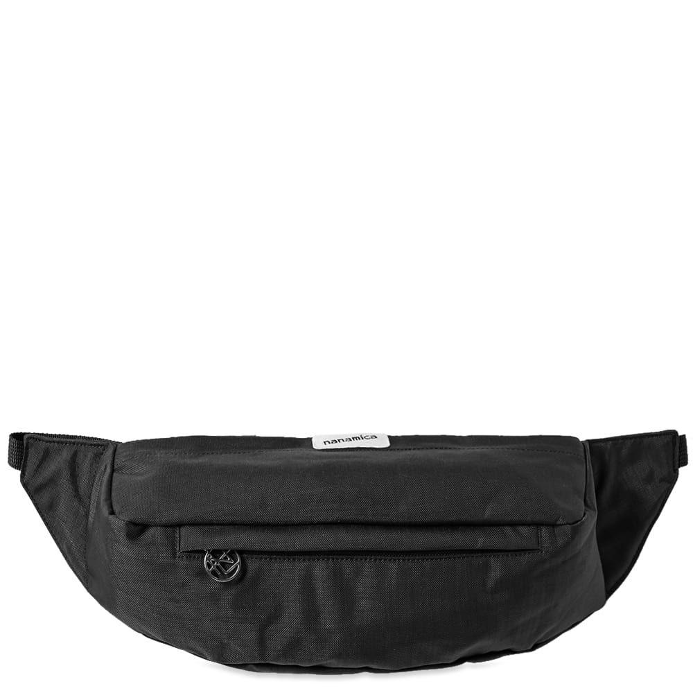ナナミカ Nanamica メンズ ボディバッグ・ウエストポーチ バッグ【waist bag】Black