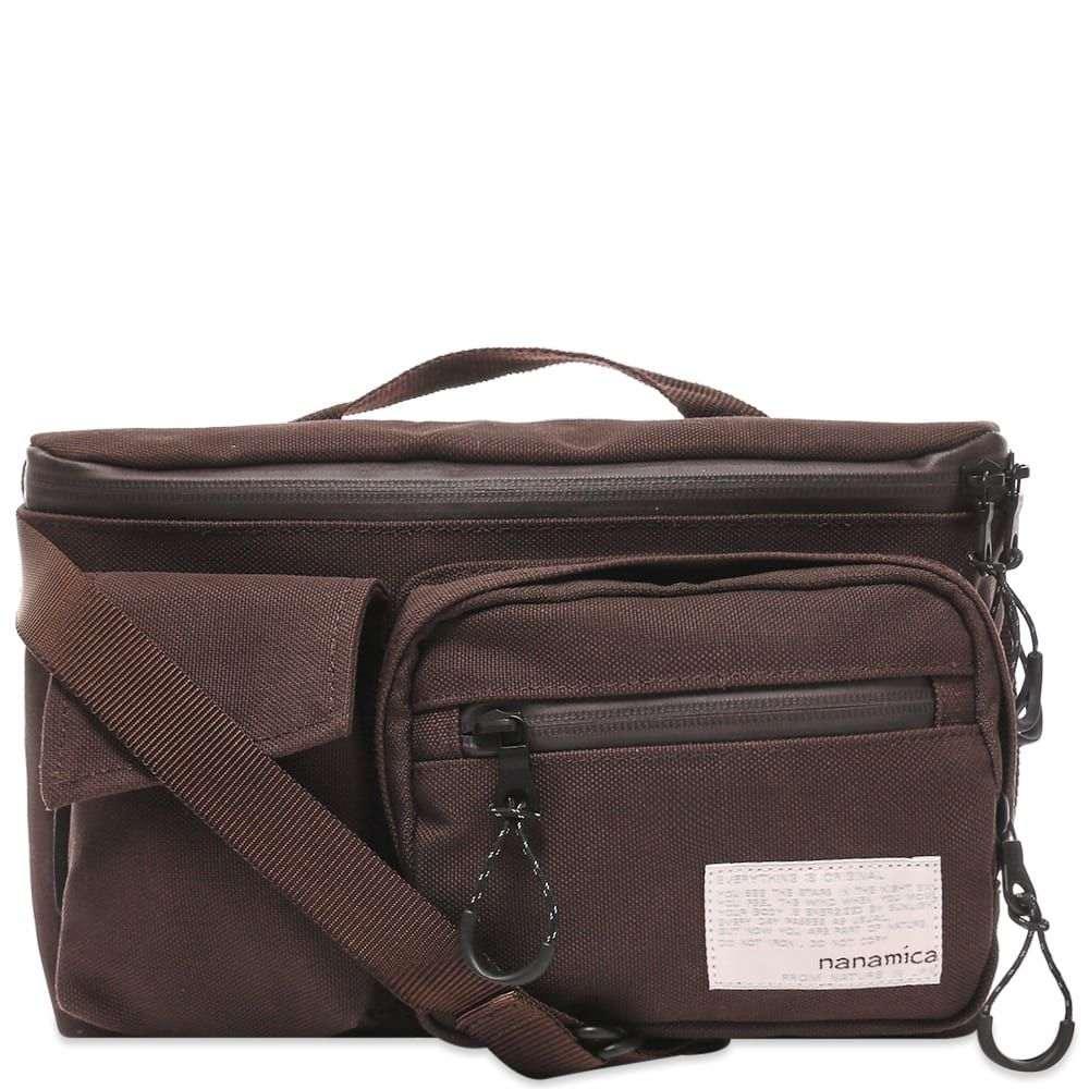 ナナミカ Nanamica メンズ ボディバッグ・ウエストポーチ バッグ【waist bag】Dark Brown