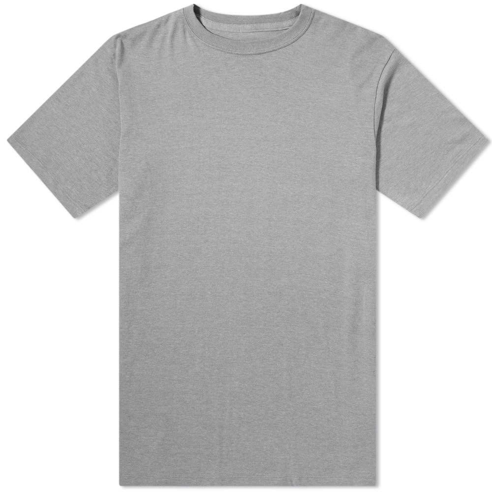 ナナミカ Nanamica メンズ Tシャツ トップス【coolmax loopwheel jersey tee】Heather Grey