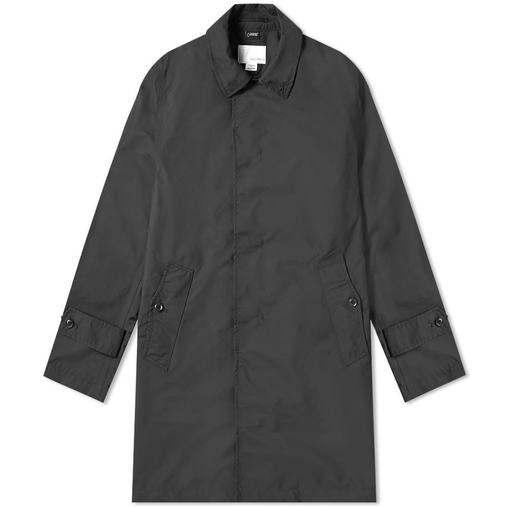 ナナミカ Nanamica メンズ コート アウター【gore-tex soutien collar coat】Black