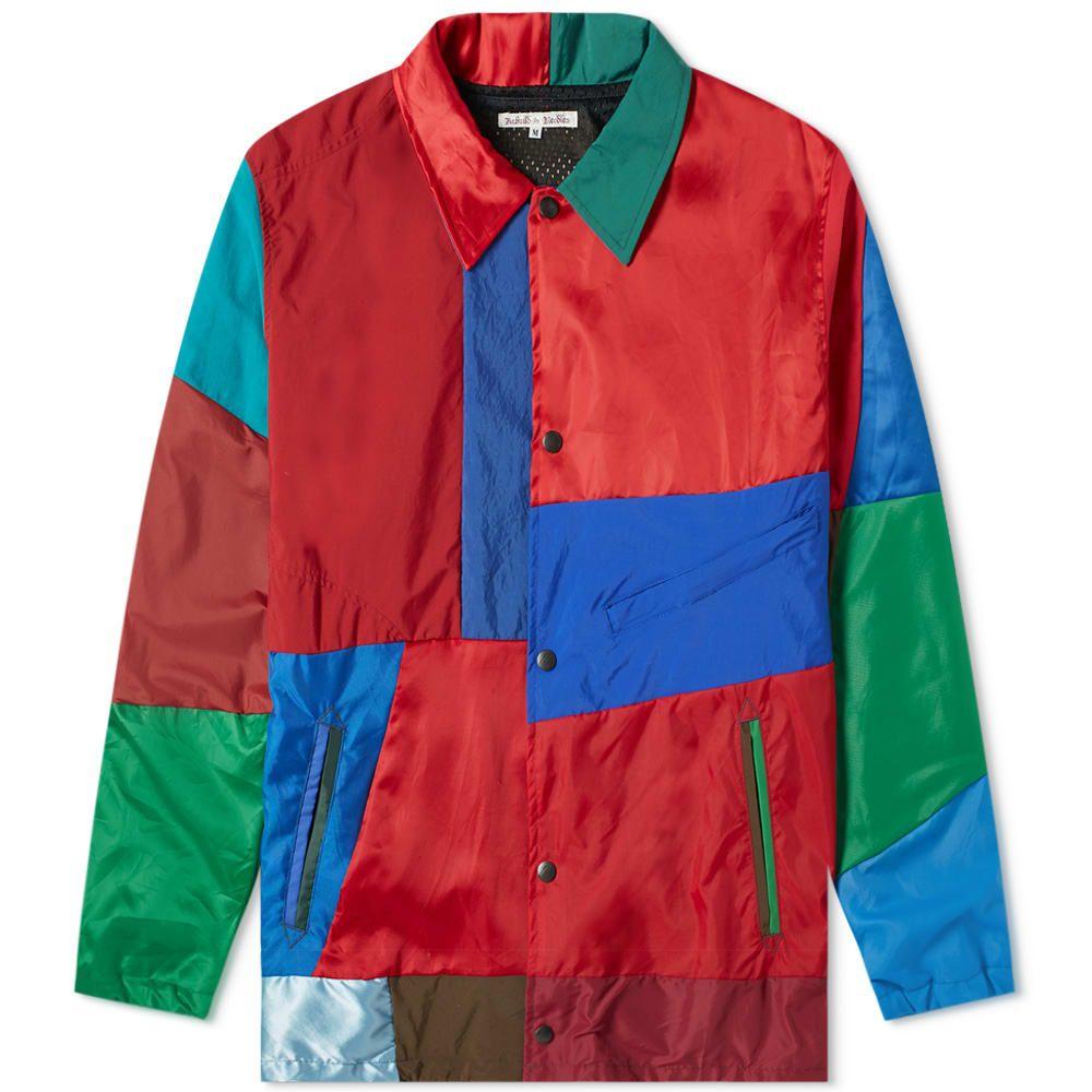 ニードルズ Needles メンズ ジャケット コーチジャケット アウター【nylon cut & sew coach jacket】Multi