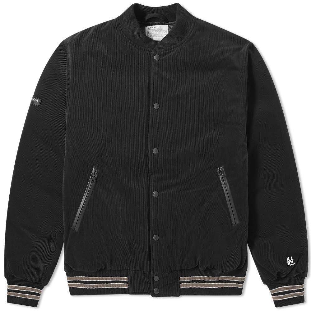 ナナミカ Nanamica メンズ ダウン・中綿ジャケット アウター【varsity down jacket】Black