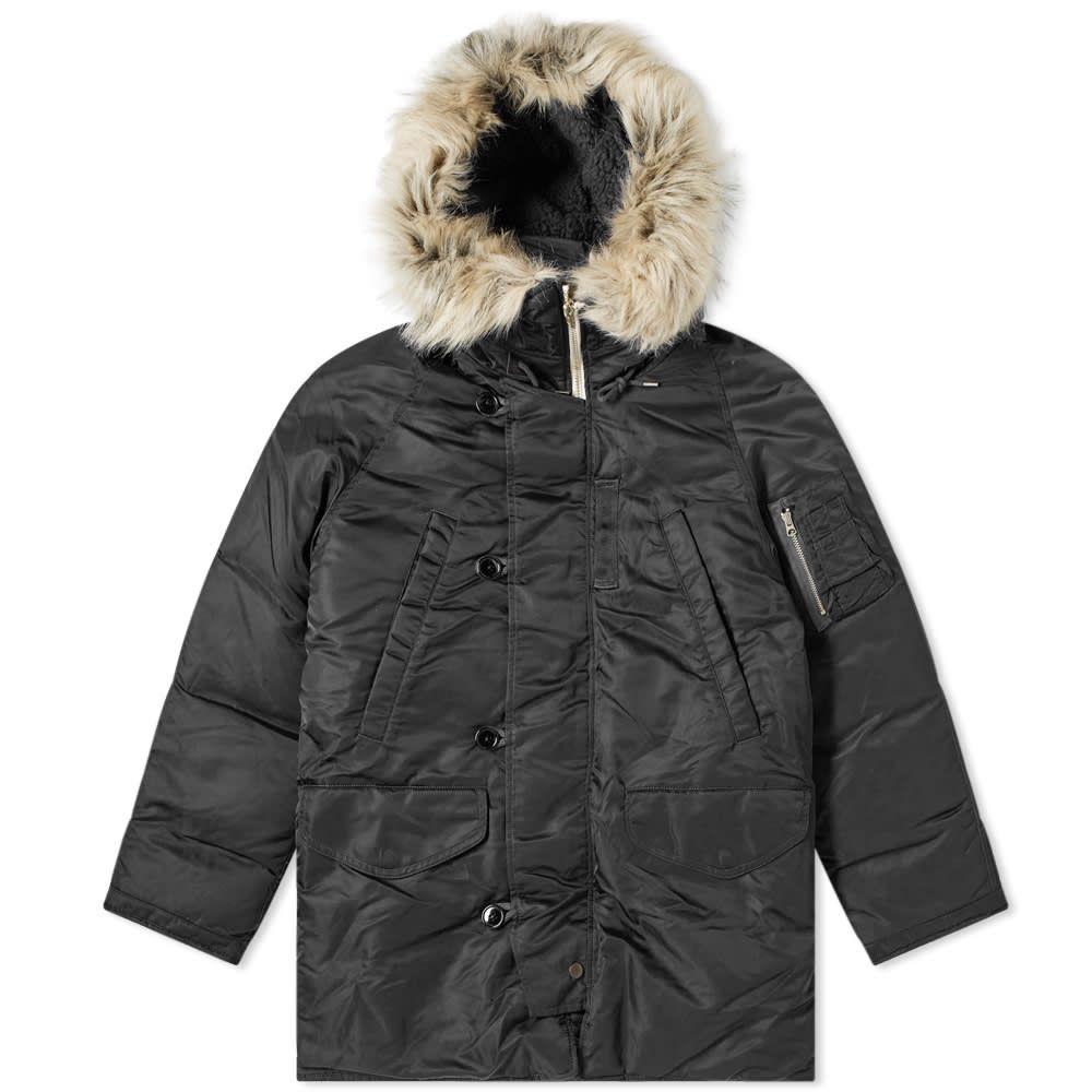 ナナミカ Nanamica メンズ ダウン・中綿ジャケット アウター【harbor down coat】Black
